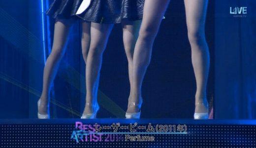 ベストアーティスト2014でのPerfumeのっちの切り替えが見事