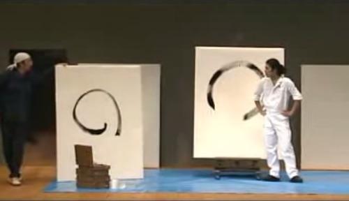 性格が表れる円の描き方と、のっちのブレのなさw