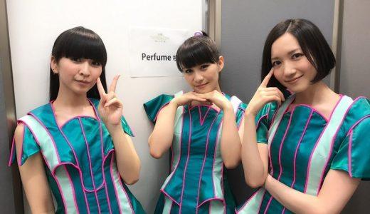日本テレビ「THE MUSIC DAY 願いが叶う夏」でPerfumeが『TOKYO GIRL』1番のみを披露